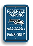 Fremont Die NFL Seattle Seahawks Plastic Parking Sign