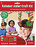 Reindeer Antler Activity Craft Kit - 40 Pieces (Makes 4 Headbands)