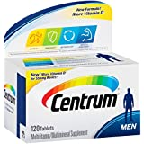 Centrum Ultra Men Multivitamin/Multimineral Supplement (120-Count Tablets)