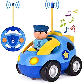 Liberty Imports My First RC Cartoon Car Vehicle 2-Channel Remote Control  Toy  bf2995963