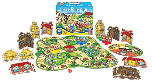 Three Little Pigs House (My First Three Little Pigs Board Game Ages 3 - 6)