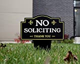 Brookfield Products No Soliciting Sign for Home