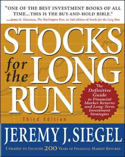 51 CQaYHSiL - Stocks for the Long Run : The Definitive Guide to Financial Market Returns and Long-Term Investment Strategies