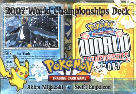 Pokemon Card Game 2007 World Championships Deck