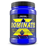 Pride Nutrition Dominate X Pre Workout Supplement - 500g Nitric Oxide & Creatine Pre-workout Drink For Energy And Endurance - For Men and Women - 25 Servings (Fruit Punch)