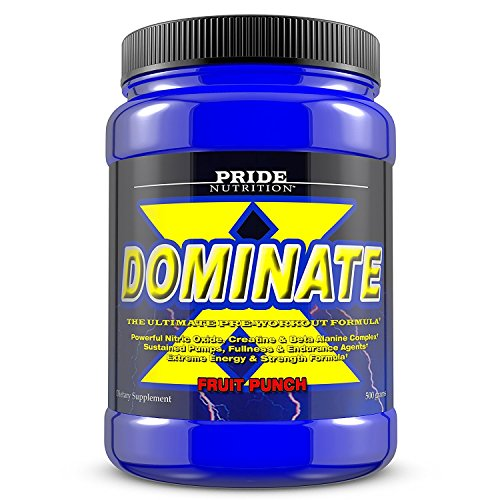 Pride Nutrition Dominate Workout Supplement product image