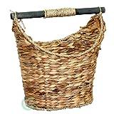 Vintiquewise Rustic Toilet Paper Holder/Magazine Basket