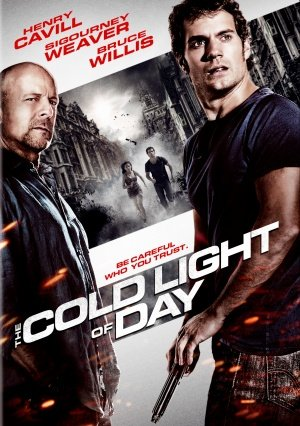 THE COLD LIGHT OF DAY - Movie Poster - Single-Sided - 27x40 - Original (Henry Cavill, Sigourney Weaver, Bruce Willis) (The Cold Light Of Day Bruce Willis)