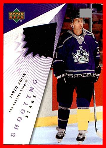 2003-04 Upper Deck Shooting Stars GAME USED JERSEY #STJA Jared Aulin LOS ANGELES KINGS