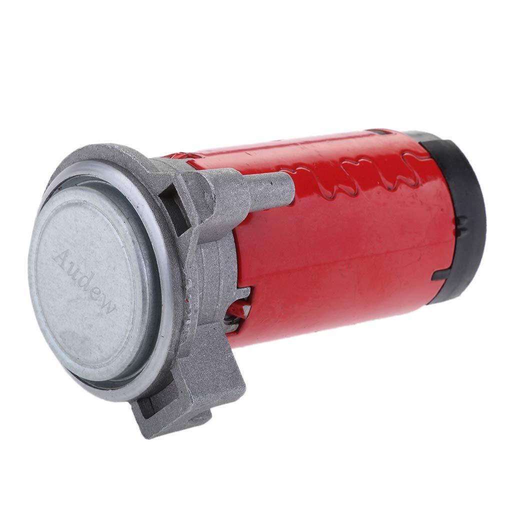 FLAMEER 12V Rot Luft Kompressor Signalhorn f/ür Zeug Hupe Drucklufthorn Auto PKW 100-115db