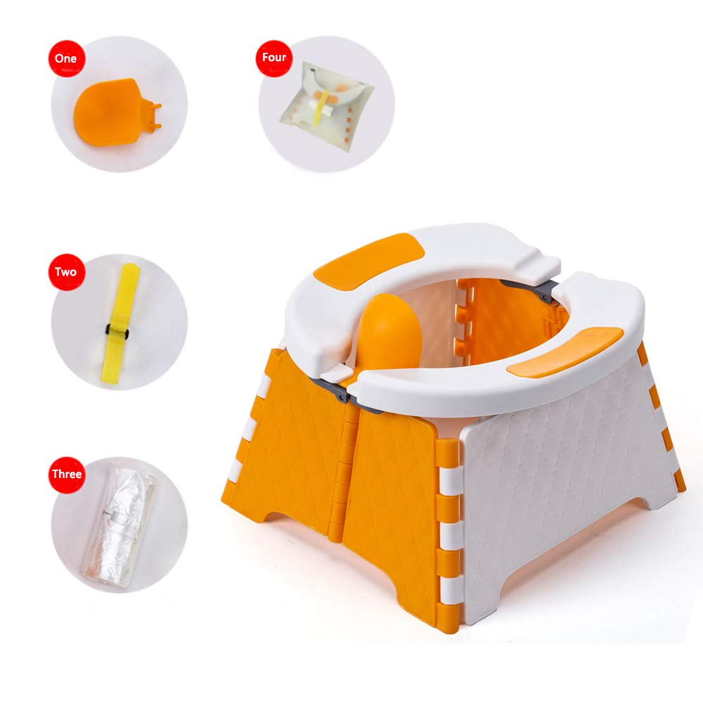 Honboom Portable Potty Training Seat for Toddler | Kids Travel Potty |