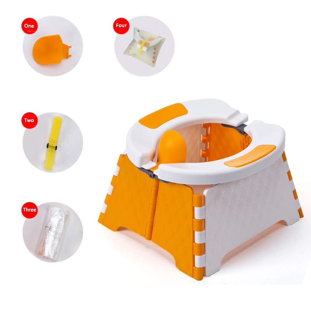 Honboom Portable Potty Training Seat for Toddler | Kids Travel Potty |