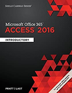 Shelly Cashman Series Microsoft Office 365 Access 2016 Introductory