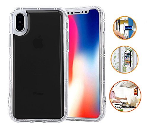 best sneakers 28b80 5ea4d IPHONE X / IPHONE 10 Anti Gravity Case / Hands Free Case / Nano Suction  Case / Magnetic Case / Stick On Nano Technology Casing / AntiGravity Nano  ...
