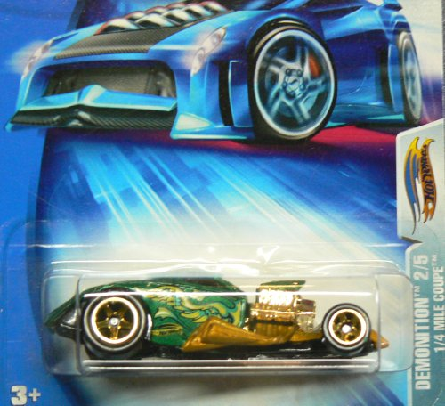 Hot Wheels 2004 Demonition 2/5 1/4 Mile Coupe #149 on Card (0.25 Mile Coupe)