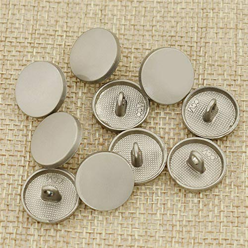10 Pcs Lots Vintage Metal Shank Buttons DIY Garment Sewing Accessories Handcraft