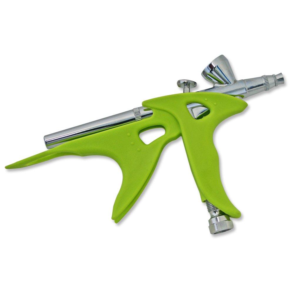 Wiltec Airbrush Zubeh/ör Pistolenhalter universal Handgriff f/ür Airbrushpistolen