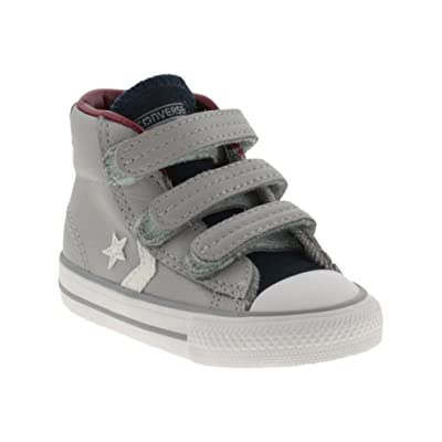 755169C CONVERSE gris étoiles Pleyer ev bébé chaussures tous milieu chicots étoiles