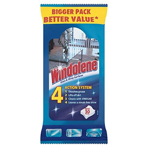 Windolene Window Cleaner Wipes 30 Wipes
