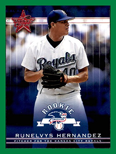 2002 Leaf Rookies and Stars  363 Runelvys Hernandez RC Rookie KANSAS CITY  ROYALS at Amazon s Sports Collectibles Store 128efd9d6