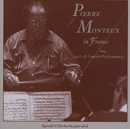 Pierre Monteux in France; 1952-58 Concert Performances by Music & Arts Programs
