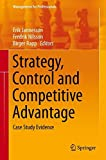 img - for Strategy, Control and Competitive Advantage: Case Study Evidence (Management for Professionals) book / textbook / text book