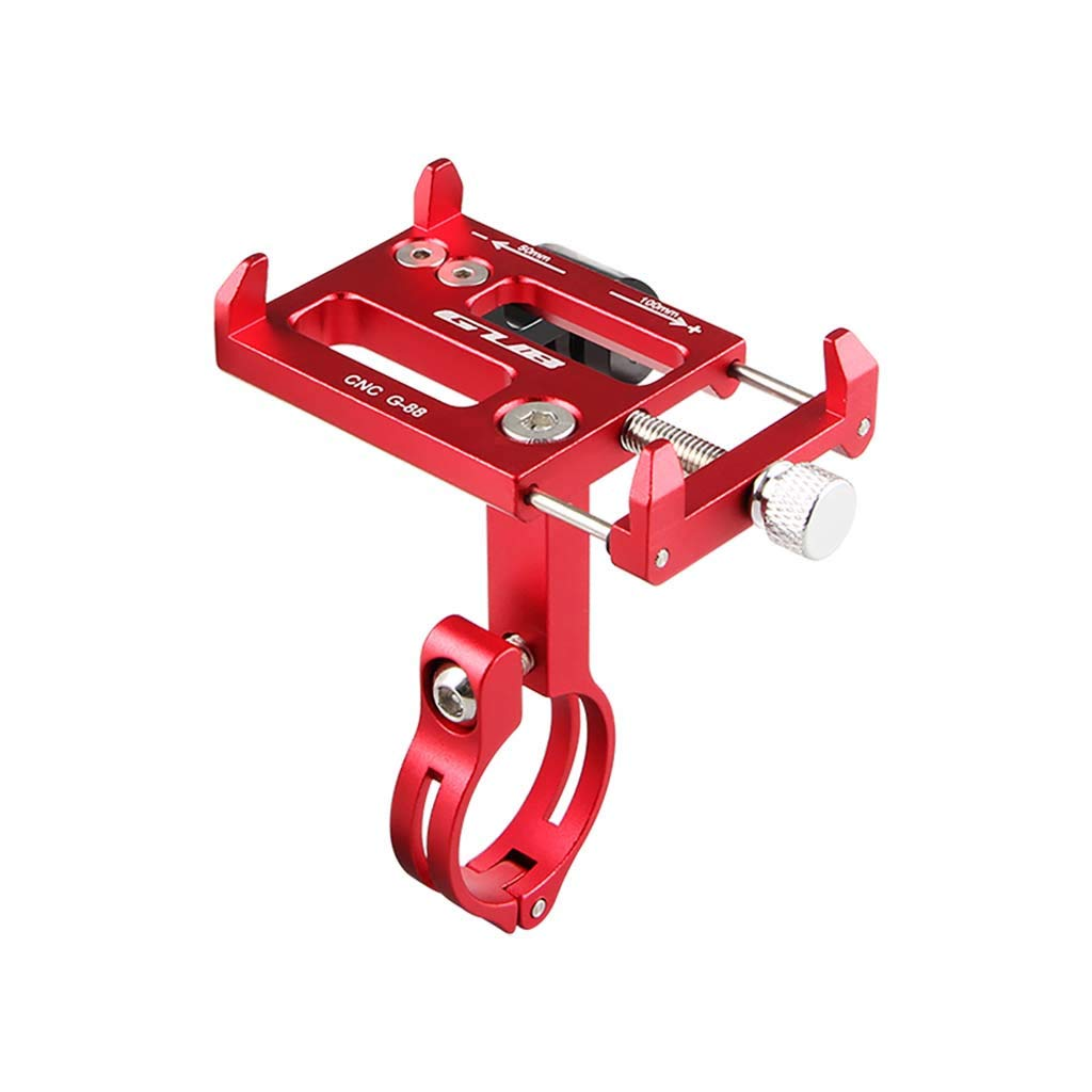 Stand Holder,Holder for DJI OSMO Action Camera/for GoPro Camera Bike CNC Alloy Anti-Slip, Jogging, Handlebar, Red