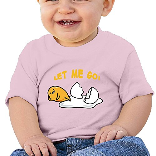 STY-LISH Lovely Lazy Egg Babe Ideal Short Sleeve Tank Top Cotton T-Shirt Pink 24 Months -