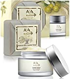 Rejuvenation Aging Cream for Face & Neck - 100% Natural Vegan Premium Deep Nourishing Skin Moisturizer Smoothing Creme 1.7 oz - Shea, Jojoba, Olive, Almond & Avocado Oils Blend