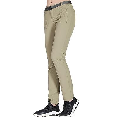 Pantalon Outdoor Pantalon de Randonnée Femme été Léger Respirant Pantalon à Séchage Rapide Pantalon de Trekking Marche Montagne pour Femme