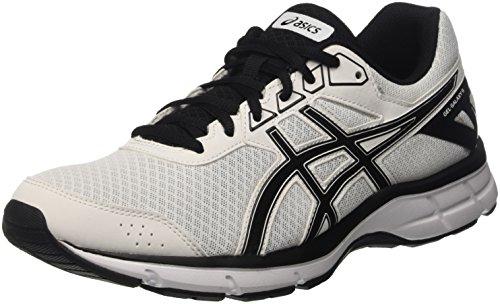 Asics Gel-Galaxy 9, Zapatillas de Gimnasia para Hombre Bianco (White/Black/White)