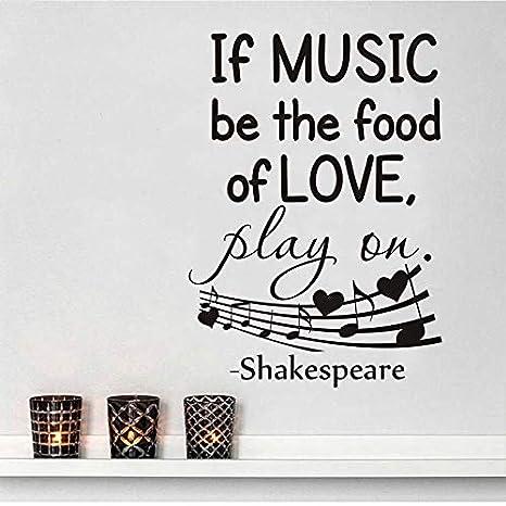 Fengdp Si la música es la Comida del Amor Que Dice la Etiqueta de ...