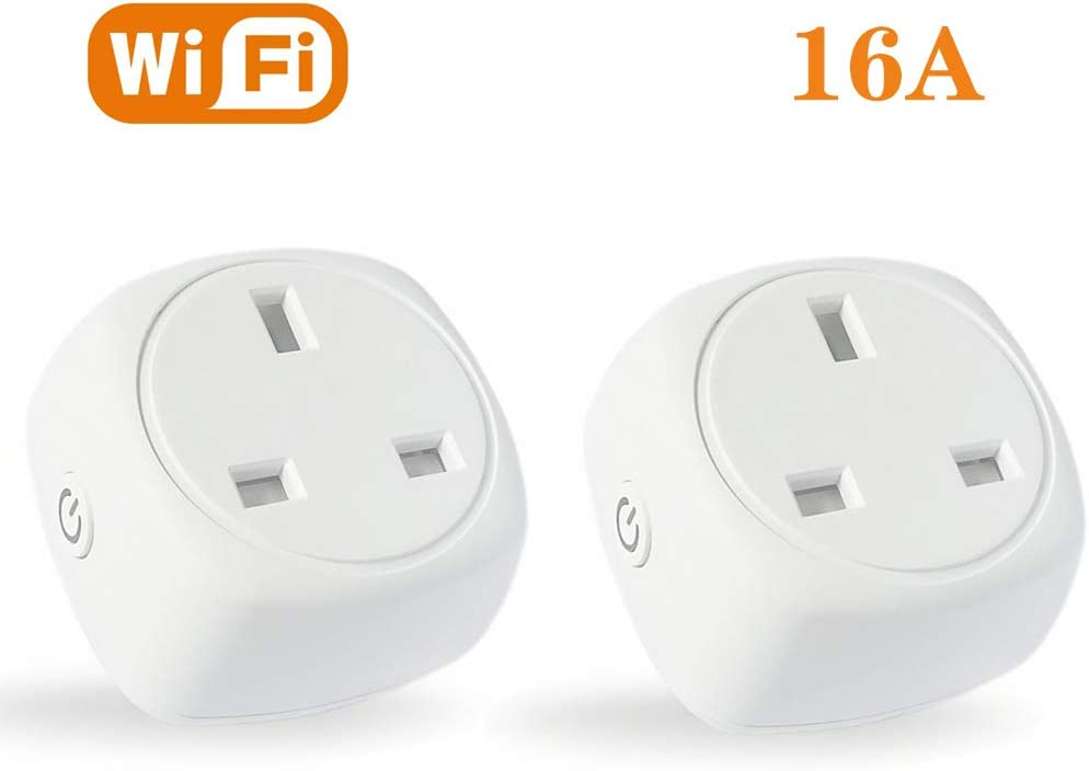 Smart Plug Echo ASZKJ WiFi Outlet Compatible with Alexa Google Home and...