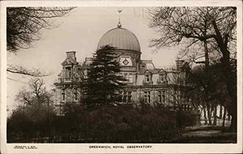 Greenwich, Royal Observatory London, England Original Vintage Postcard