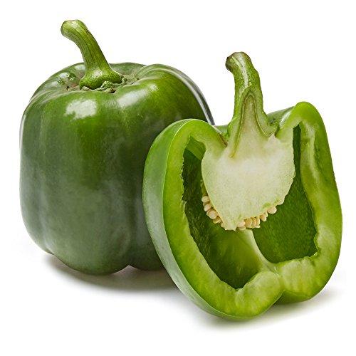 Organic Green Bell Pepper, One Medium