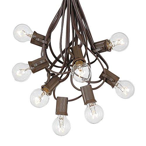 Patio String Lights Globe Bulbs