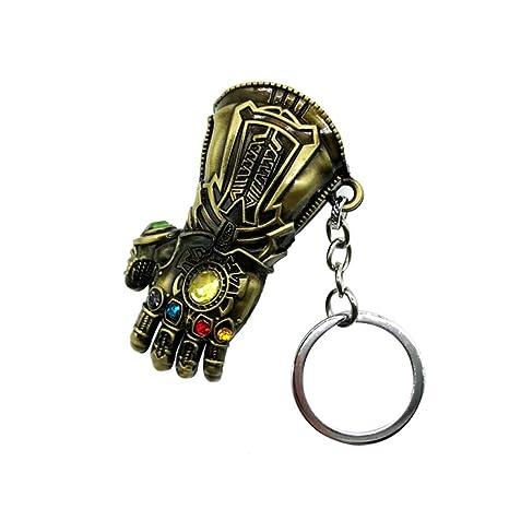 MAJGLGE Llavero de Coche con diseño de los Vengadores Thanos ...