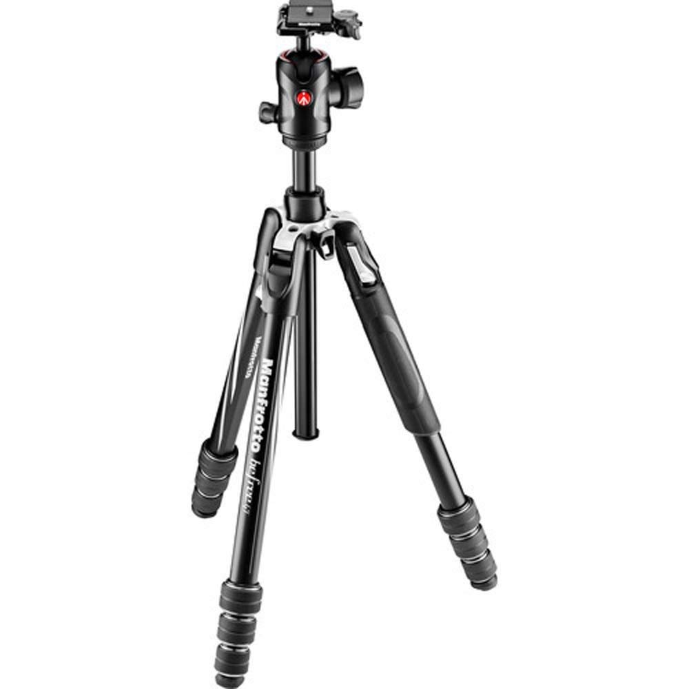 Manfrotto Befree GT Aluminum Travel Tripod with Ball Head, Twist Lock, Black by Manfrotto