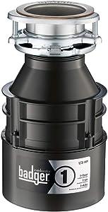 InSinkErator Badger 1 1/3 HP Household Garbage Disposer (Renewed)