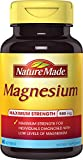 Nature Made Max Strength: Magnesium 500 mg Softgel 60 Ct Review