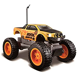 Maisto Tech Off Road Rock Crawler jr Remote Control Vehicle (Colors May Vary)