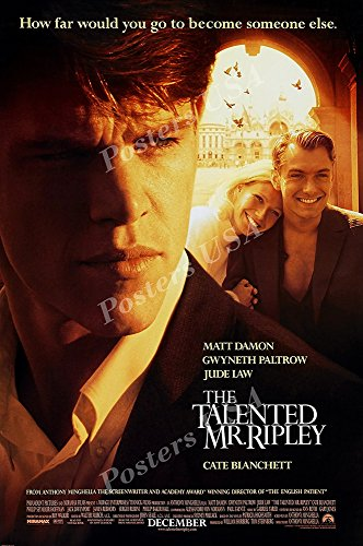 """Posters USA - The Talented Mr. Ripley Movie Poster GLOSSY FINISH - FIL157 (16"""" x 24"""" (41cm x 61cm))"""