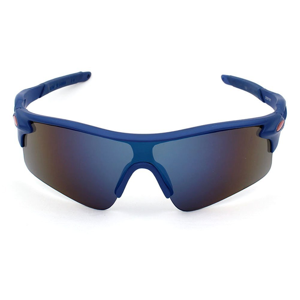 Westeng Men Sun Glasses Outdoor Riding Bicycle Sports Sunglasses blue SPSUDKQ24198