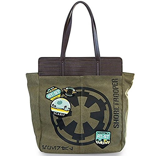 Loungefly X Star Wars Rogue One Shoretrooper and Rebel Tote