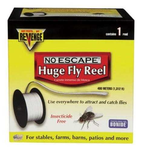 Bonide 46140 Revenge Huge Fly Reel, 1300