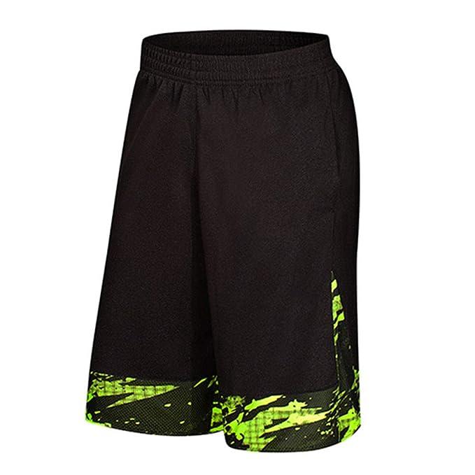 Runyue Hombres Corriendo Baloncesto Deportes Pantalones ...