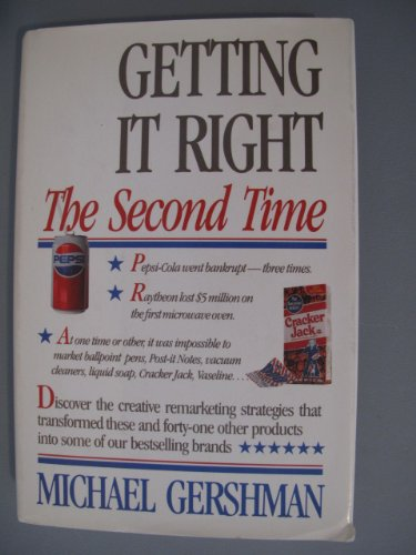 Getting it  Right the Second Time pdf epub