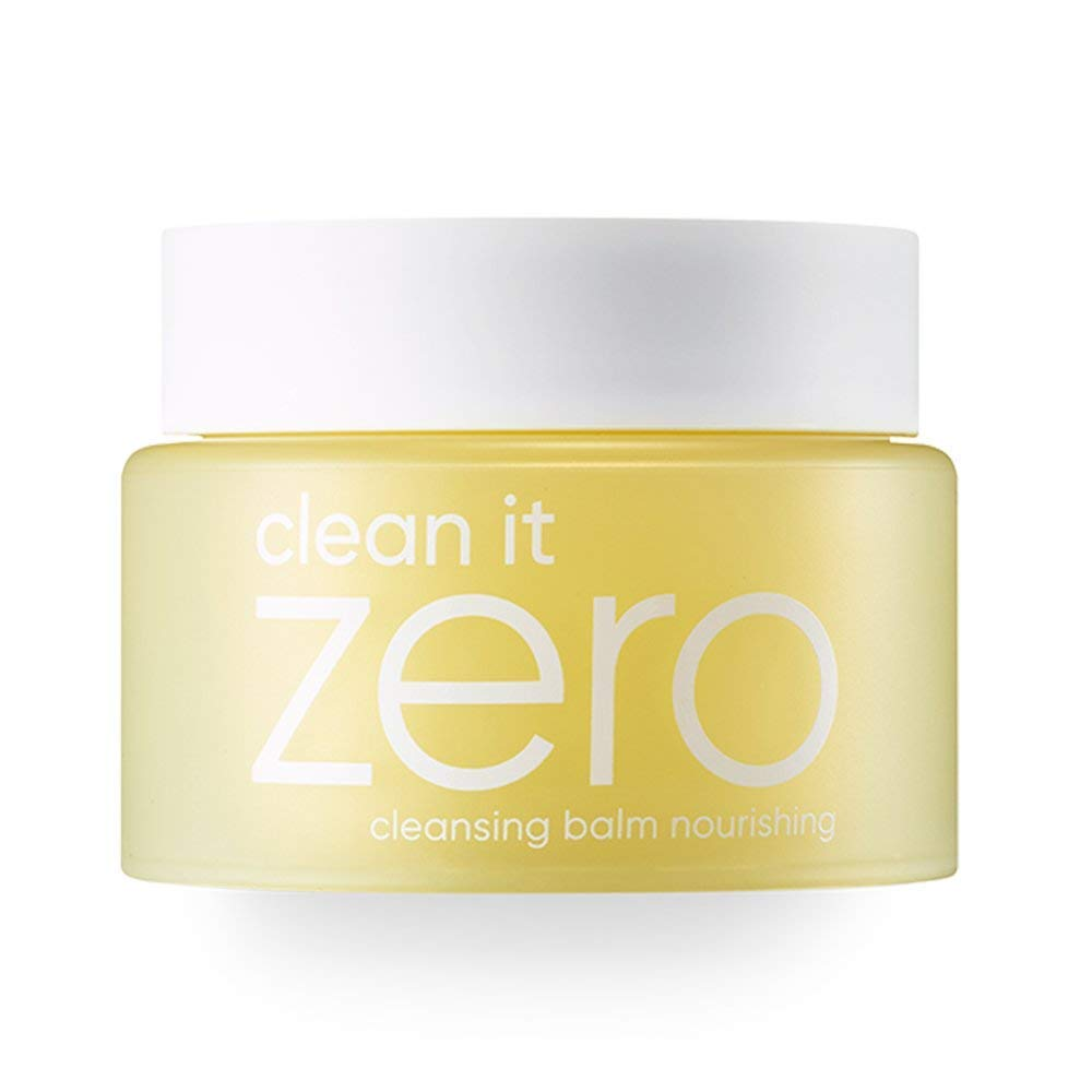 Banila Co Clean It Zero Nourishing Bálsamo de limpieza para piel seca de 100 ml, repone la humedad, elimina el maquillaje y las células muertas de la piel, ...