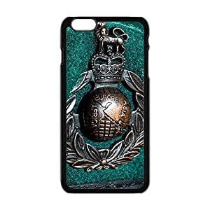 SKULL Royal Marines Beret Cell Phone Case for Iphone 6 Plus