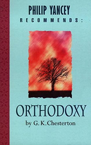 Philip Yancey Recommends Orthodoxy Chesterton ebook product image